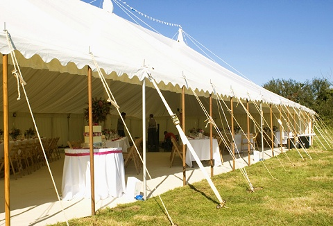 Link to the South West Marquees website