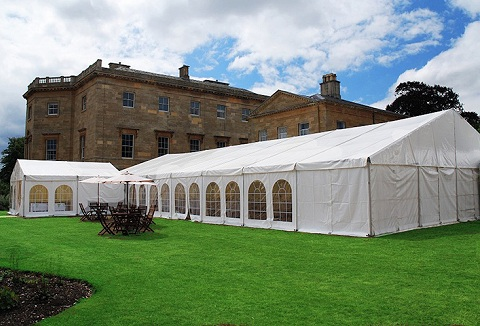 Link to the Harlequin Marquee Hire website