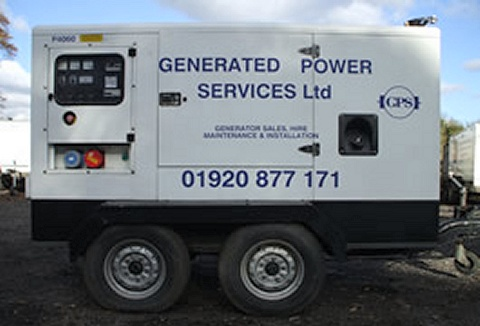 Link to the Generated Power Services Ltd website