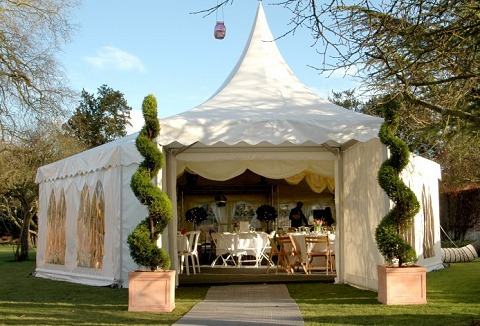 Link to the Village Farm Marquees website