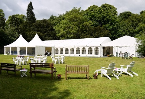 Link to the Baillies Marquees Ltd website
