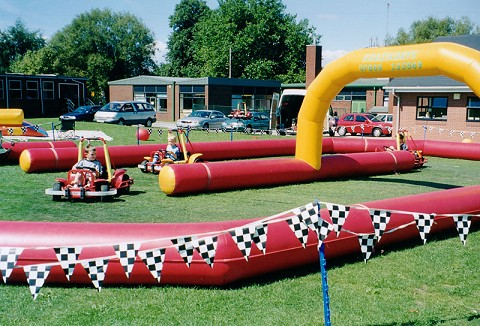 Link to the Go-kart Party Gloucestershire website