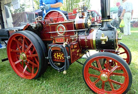 Link to the Model Steam Road Vehicle Society Ltd website