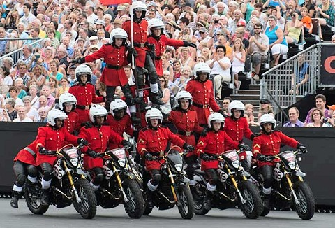 Link to the The Imps Motorcycle Display Team website
