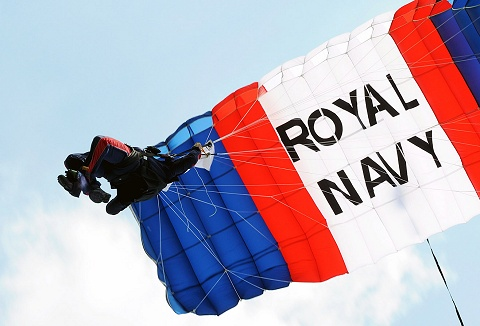 Link to the Royal Navy Display Teams website