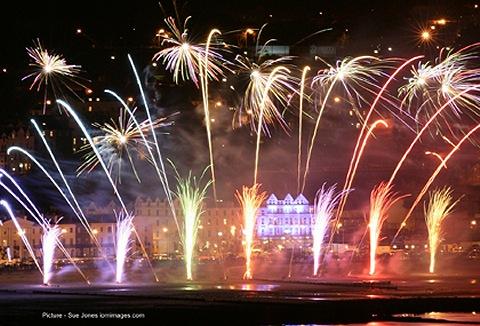 Link to the Merlin Fireworks Ltd website