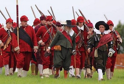 Link to the The Marquess of Winchester's Regiment website
