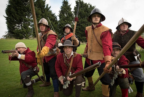 Link to the Lord Robartes Regiment of Foote website