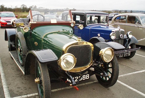 Link to the Chester Vintage Enthusiasts Club website