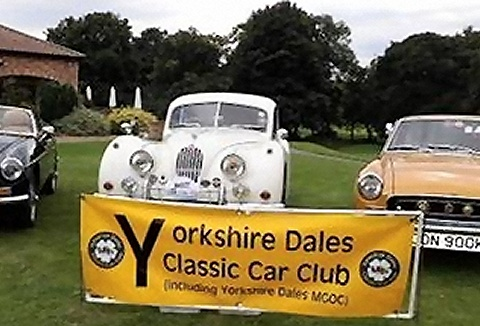 Link to the Yorkshire Dales Classic Car Club website