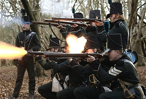 Link to the The 95th Rifles website