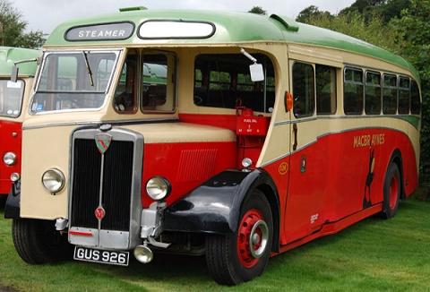 Link to the Glasgow Vintage Vehicle Trust website