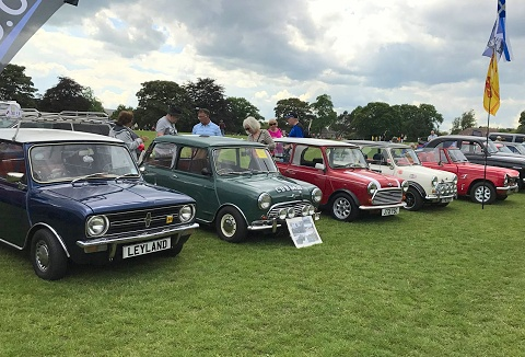 Link to the Edinburgh and Lothian's Mini Owners Club website