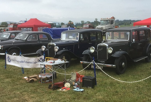 Link to the The Scottish Vintage Austin Enthusiasts Club website