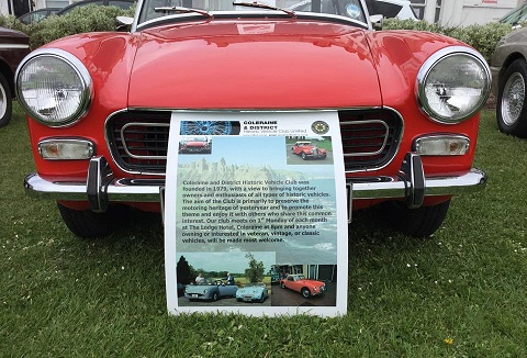 Coleraine and District Historic Vehicle Club