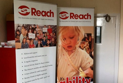 Link to the Reach Charity Ltd website
