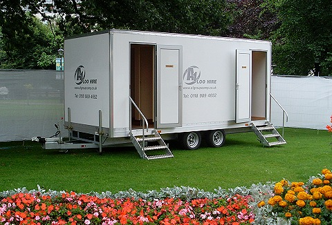 Link to the A1 Loo Hire website