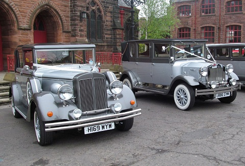 Link to the Gayle's Bridal Cars website