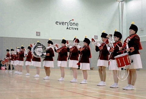 Link to the Haverettes All Girls Marching Band website