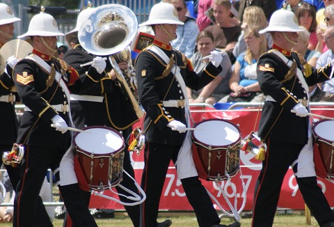 Link to the Royal Navy Royal Marines Bands website