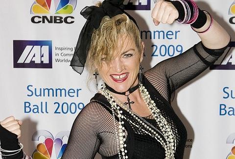 Link to the Madonna Tribute Lisa Antoinett website