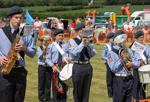 Link to the 17th Tonbridge Scout & Guide Band website