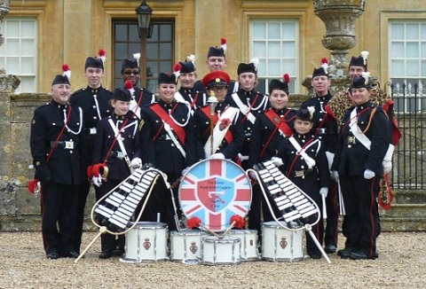 Link to the The Shires Royal British Legion Youth Band website
