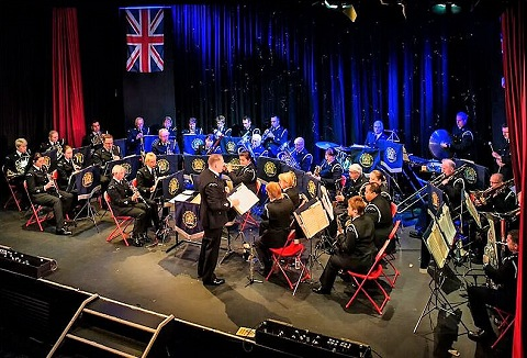 Link to the The Band of the Hampshire Constabulary website