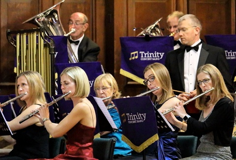 Link to the Trinity Concert Band website