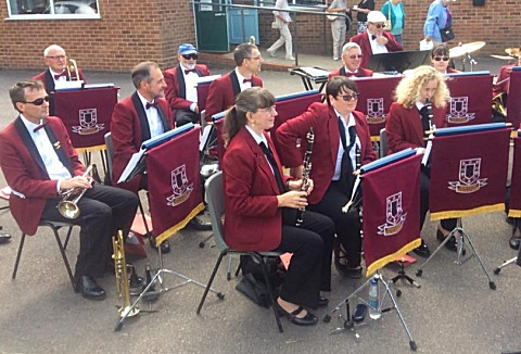 Link to the Gravesend Borough Band website