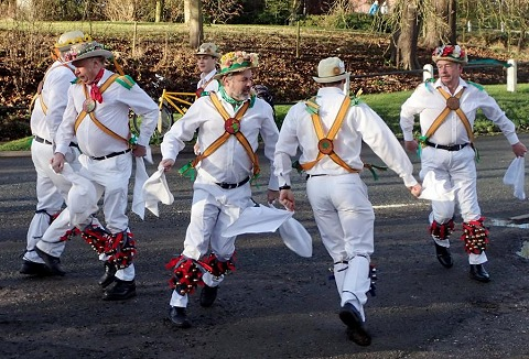 Link to the Foresters Morris and Sword Dance Club website