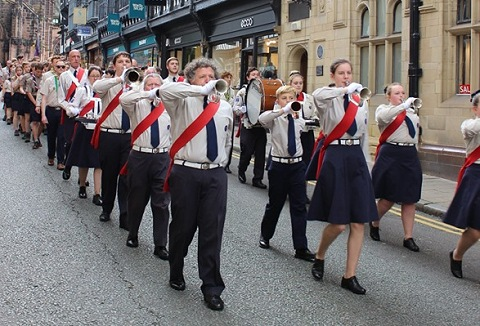 Link to the Alderley District Scout Band website