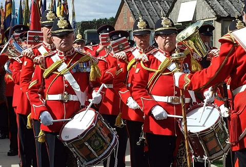 Link to the The Yorkshire Volunteers Band website