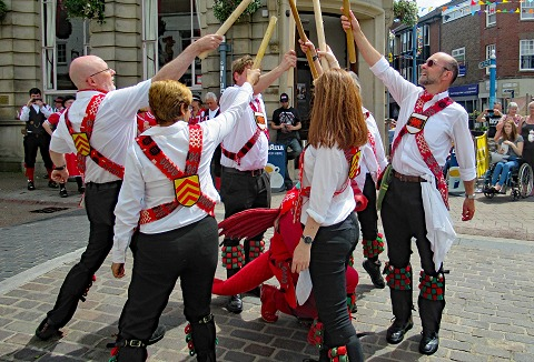 Link to the Cardiff Morris website
