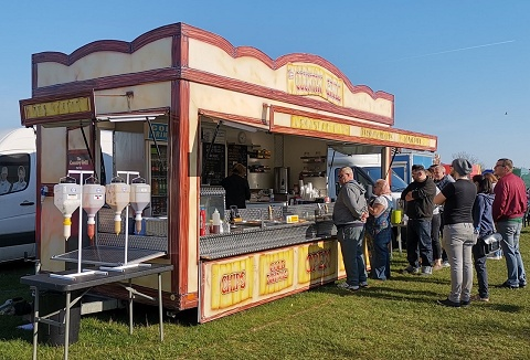Link to the Mobile Events Catering website