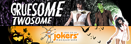Jokers Masquerade - Gruesome Twosome Costumes